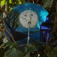 Brunnengesicht 'Mond' - 2006